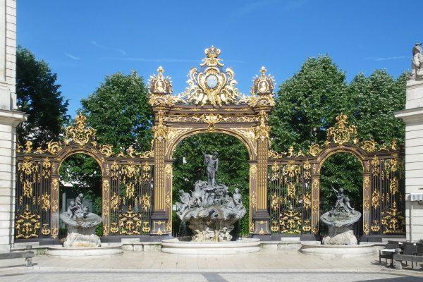 Fontaine Neptune Place Stanislas de Nancy